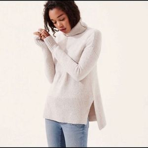 Lou & Grey Cowl Neck Sweater